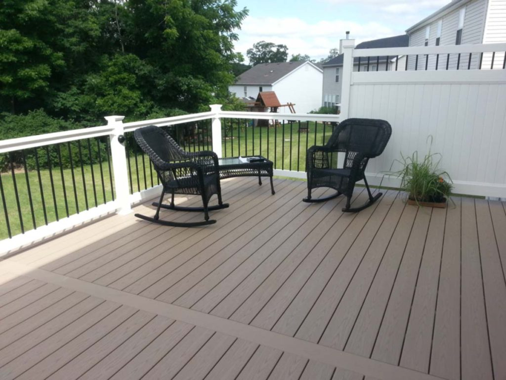 Composite Decking Artistic Decks St. Louis