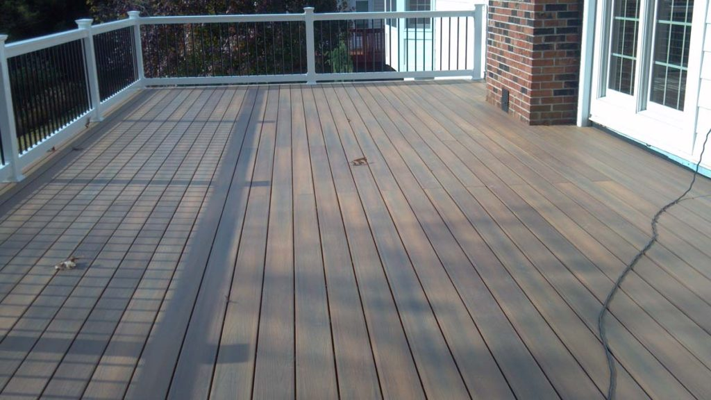 Composite Deck Vynyl Wrap Artistic Decks St. Louis