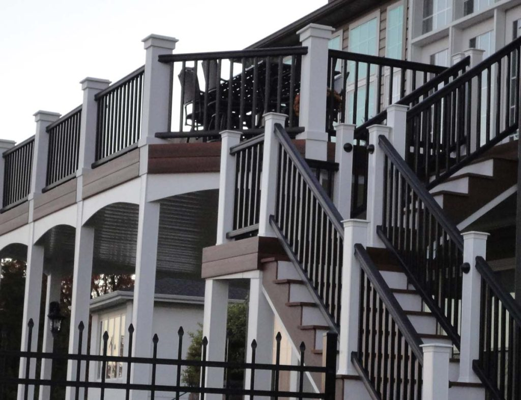 Deck Railing Artistic Decks St. Louis