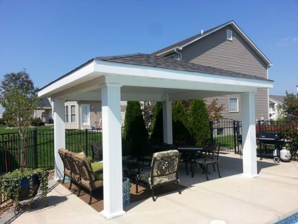 Patio Cover Gazebo Artistic Decks St. Louis