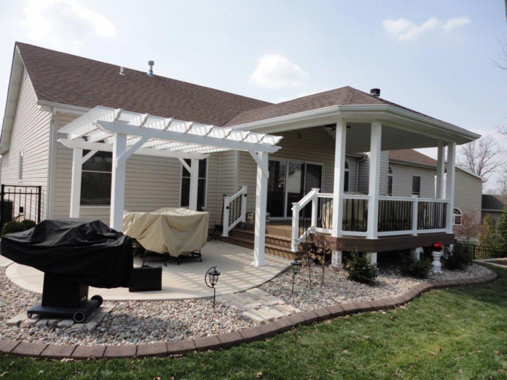 Pergola Builder Artistic Decks St. Louis