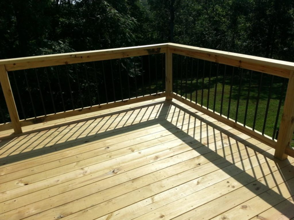 Wood Decks Treated Artistic Decks St. Louis