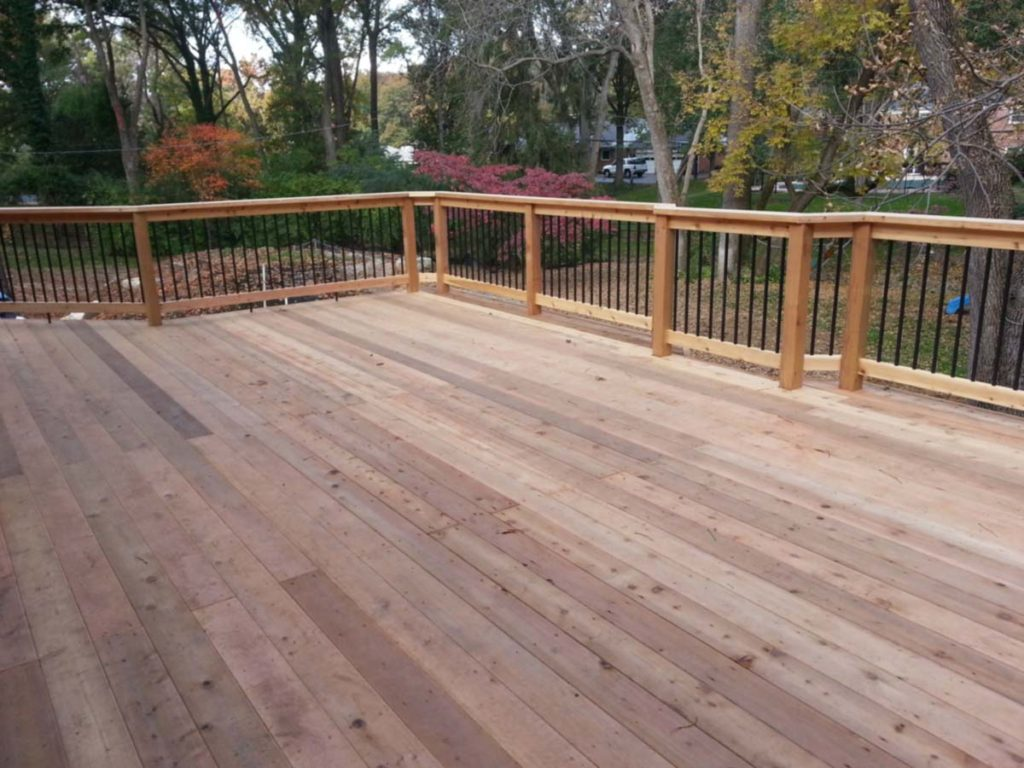 Wood Deck Artistic Decks St. Louis